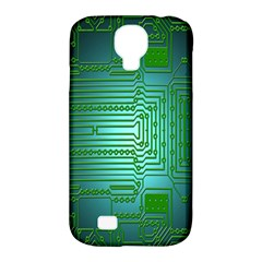 Board Conductors Circuits Samsung Galaxy S4 Classic Hardshell Case (PC+Silicone)