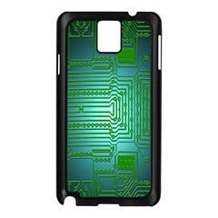Board Conductors Circuits Samsung Galaxy Note 3 N9005 Case (Black)