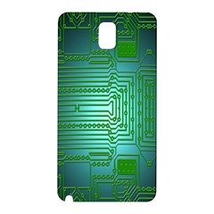 Board Conductors Circuits Samsung Galaxy Note 3 N9005 Hardshell Back Case