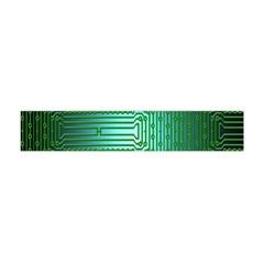Board Conductors Circuits Flano Scarf (Mini)