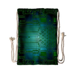 Board Conductors Circuits Drawstring Bag (Small)
