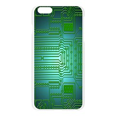 Board Conductors Circuits Apple Seamless iPhone 6 Plus/6S Plus Case (Transparent)