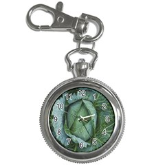 Bright Cabbage Color Dew Flora Key Chain Watches