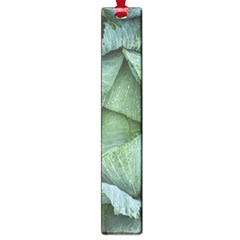 Bright Cabbage Color Dew Flora Large Book Marks
