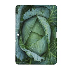 Bright Cabbage Color Dew Flora Samsung Galaxy Tab 2 (10.1 ) P5100 Hardshell Case