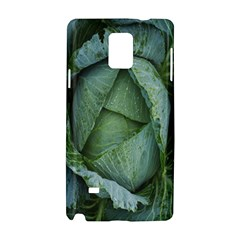 Bright Cabbage Color Dew Flora Samsung Galaxy Note 4 Hardshell Case