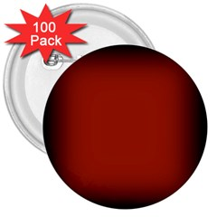 Brown Gradient Frame 3  Buttons (100 pack)