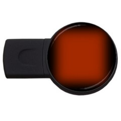 Brown Gradient Frame USB Flash Drive Round (1 GB)