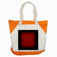 Brown Gradient Frame Accent Tote Bag