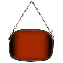 Brown Gradient Frame Chain Purses (Two Sides)