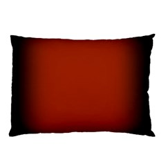 Brown Gradient Frame Pillow Case
