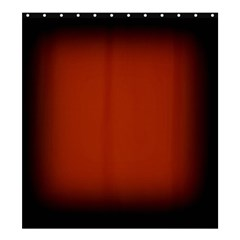 Brown Gradient Frame Shower Curtain 66  x 72  (Large)