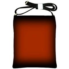 Brown Gradient Frame Shoulder Sling Bags