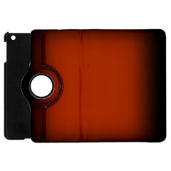 Brown Gradient Frame Apple iPad Mini Flip 360 Case