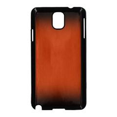 Brown Gradient Frame Samsung Galaxy Note 3 Neo Hardshell Case (Black)