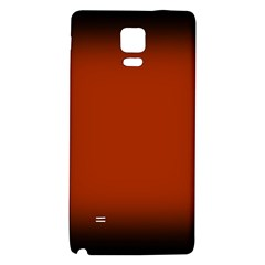 Brown Gradient Frame Galaxy Note 4 Back Case