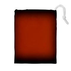 Brown Gradient Frame Drawstring Pouches (Extra Large)