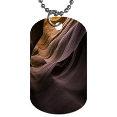 Canyon Desert Landscape Pattern Dog Tag (Two Sides)