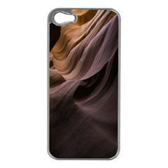 Canyon Desert Landscape Pattern Apple iPhone 5 Case (Silver)