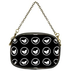 Butterfly Wallpaper Background Chain Purses (One Side)