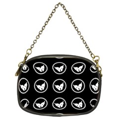 Butterfly Wallpaper Background Chain Purses (Two Sides)