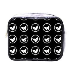 Butterfly Wallpaper Background Mini Toiletries Bags