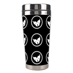 Butterfly Wallpaper Background Stainless Steel Travel Tumblers
