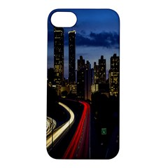 Building And Red And Yellow Light Road Time Lapse Apple iPhone 5S/ SE Hardshell Case