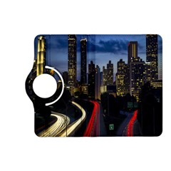 Building And Red And Yellow Light Road Time Lapse Kindle Fire HD (2013) Flip 360 Case