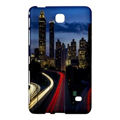 Building And Red And Yellow Light Road Time Lapse Samsung Galaxy Tab 4 (8 ) Hardshell Case