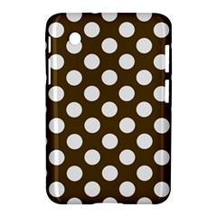 Brown Polkadot Background Samsung Galaxy Tab 2 (7 ) P3100 Hardshell Case