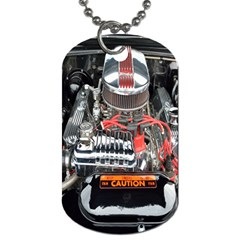 Car Engine Dog Tag (Two Sides)