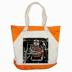 Car Engine Accent Tote Bag