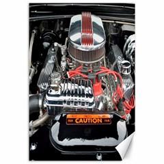 Car Engine Canvas 24  x 36