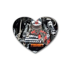 Car Engine Rubber Coaster (heart)
