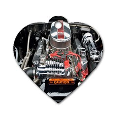 Car Engine Dog Tag Heart (Two Sides)