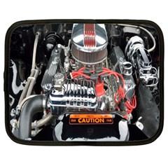 Car Engine Netbook Case (XXL)