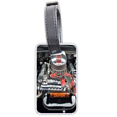 Car Engine Luggage Tags (two Sides)