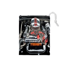 Car Engine Drawstring Pouches (Small)