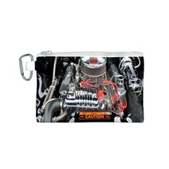 Car Engine Canvas Cosmetic Bag (S)
