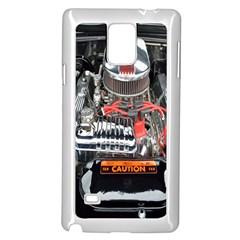Car Engine Samsung Galaxy Note 4 Case (White)