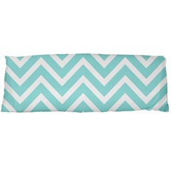 Chevrons Zigzags Pattern Blue Body Pillow Case (Dakimakura)