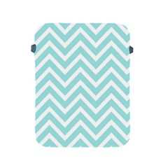 Chevrons Zigzags Pattern Blue Apple iPad 2/3/4 Protective Soft Cases