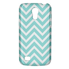 Chevrons Zigzags Pattern Blue Galaxy S4 Mini