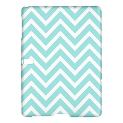 Chevrons Zigzags Pattern Blue Samsung Galaxy Tab S (10.5 ) Hardshell Case