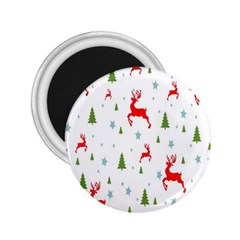 Christmas Pattern 2.25  Magnets