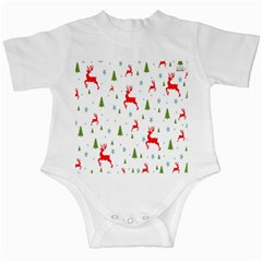 Christmas Pattern Infant Creepers