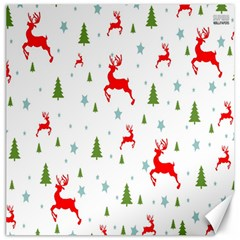 Christmas Pattern Canvas 16  x 16