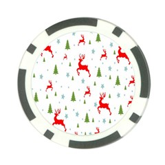 Christmas Pattern Poker Chip Card Guard (10 pack)