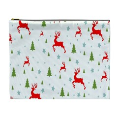 Christmas Pattern Cosmetic Bag (XL)